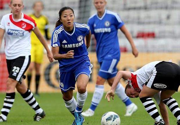 Ladies hoping to provide Chelsea's Japan redemption