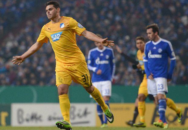 Kevin Volland na de 0-2 tegen Schalke
