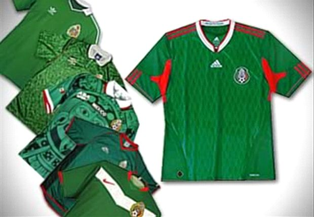 Las Camisetas De M 233 Xico En Los Mundiales Goal Com