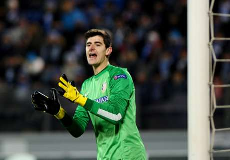 Courtois wants Chelsea talks before World Cup