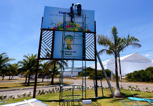 In Costa do Saupie findet die WM-Auslosung statt
