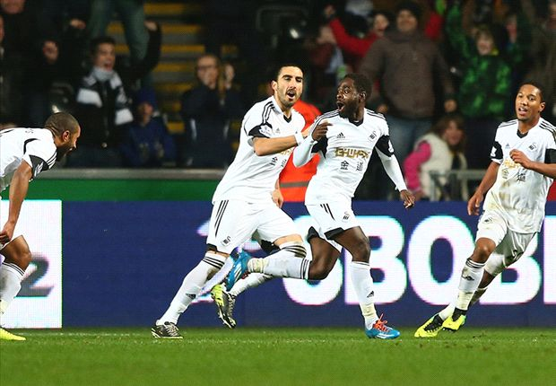 Swansea City 3-0 Newcastle: Dyer & Shelvey down Pardew's men