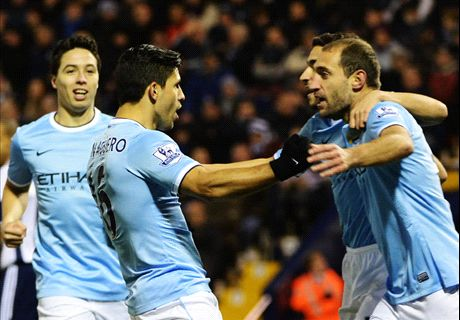 Aguero & Toure seal Man City win