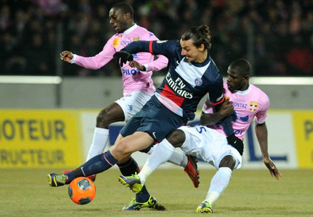 Evian 2-0 Paris Saint-Germain: Blanc's men suffer shock defeat