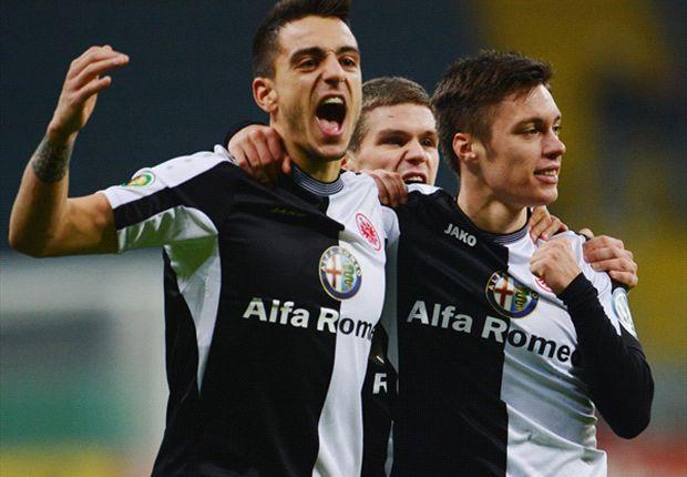 Nach dem Erfolg im Pokal, geht es für Frankfurt in der Liga wieder gegen den Abstieg