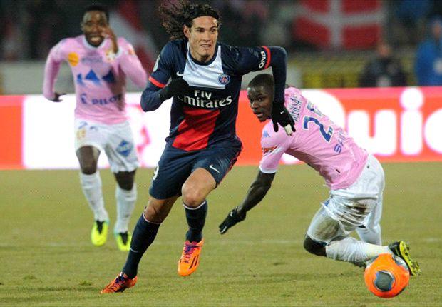 Evian bezorgt PSG zeldzame nederlaag