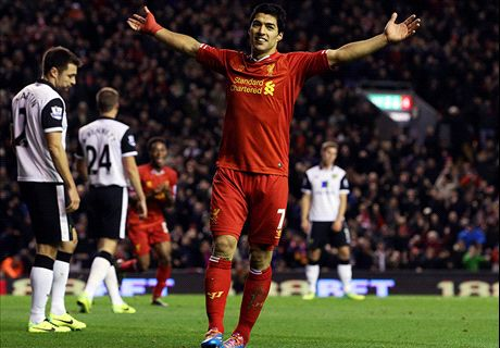 Suarez brings magic back to Anfield