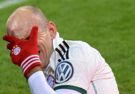 Robben fora do Mundial