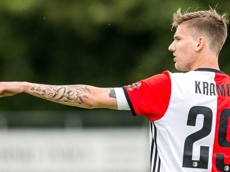 Kramer overtuigd van speeltijd bij Feyenoord