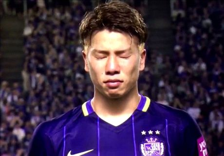 Asano in tears ahead of Arsenal move