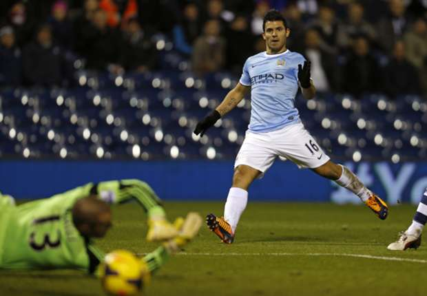 Pellegrini tips Aguero to continue goalscoring spree
