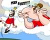 El 'Dios Ibra' asusta al 'Rey Cantona'