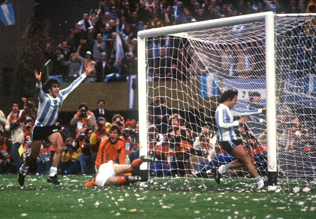 La final de 1978 fue la única vez que Argentina triunfó ante la Naranja Mecánica.