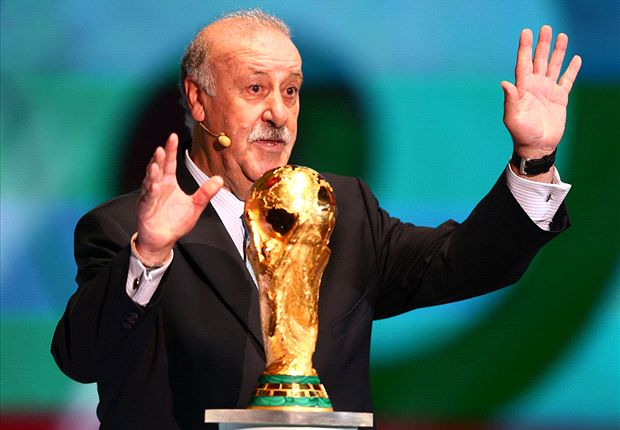 Del Bosque: I predicted Spain would face Netherlands