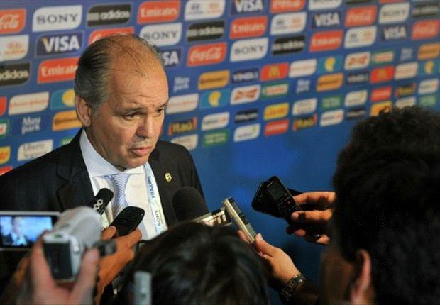 Alejandro Sabella se mostró satisfecho con el grupo que le tocó.