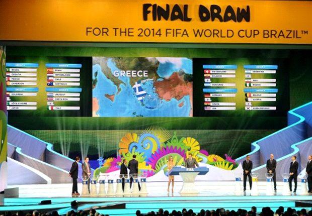 Ya se definieron los grupos de la primera fase de Brasil 2014.