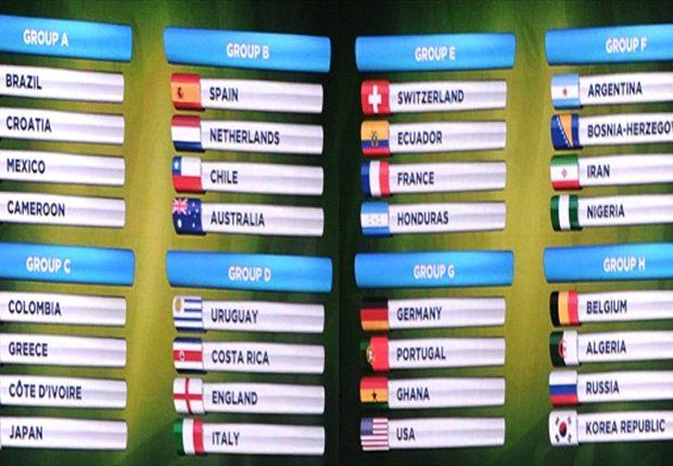 Uno por uno, los 48 partidos de la fase de grupos de Brasil 2014