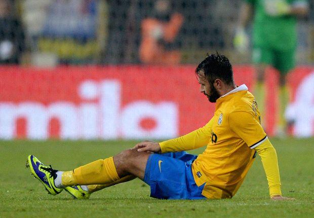 Mirko Vucinic sempre più lontano dal progetto Juventus