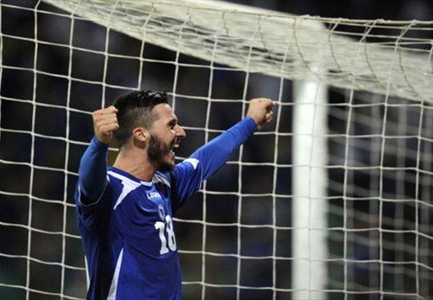 Haris Medunjanin jubelt und fährt mit WM-Neuling Bosnien-Herzegowina nach Brasilien