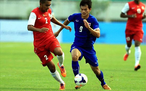 Video: U23 Thái Lan vs U23 Singapore