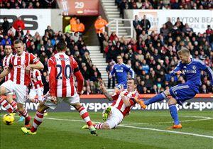 Musim lalu di Britannia, Stoke sukses atasi Chelsea secara dramatis.
