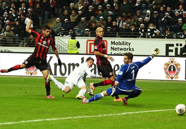 Sven Schipplock traf in Frankfurt zum 1:0