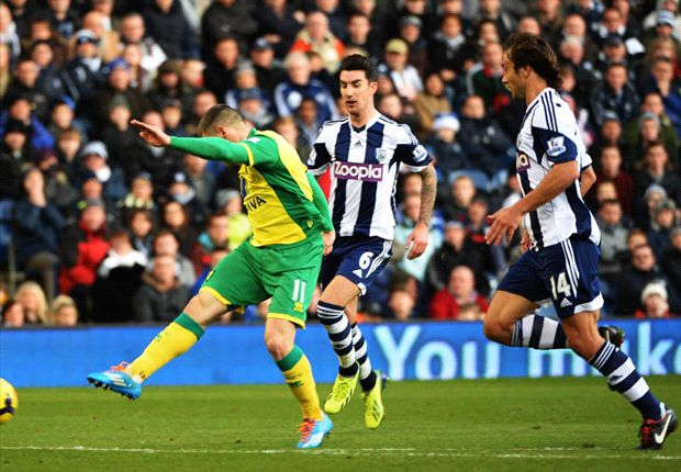 West Brom 0-2 Norwich City: Hooper & Fer see Canaries bounce back
