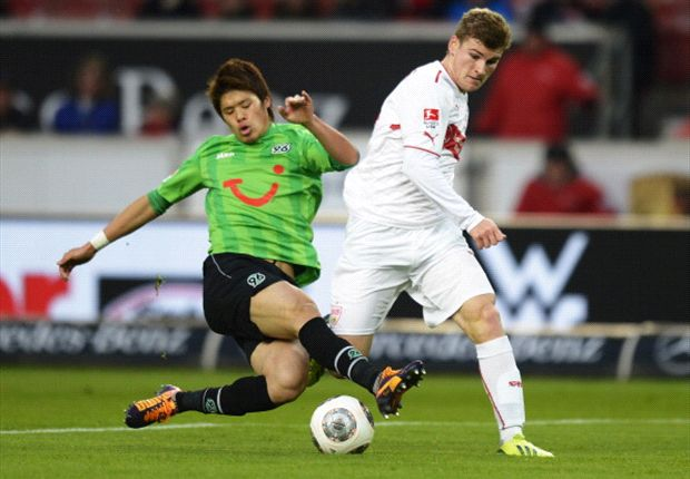 Timo Werner spielte gegen Hannover 96 eine starke Partie