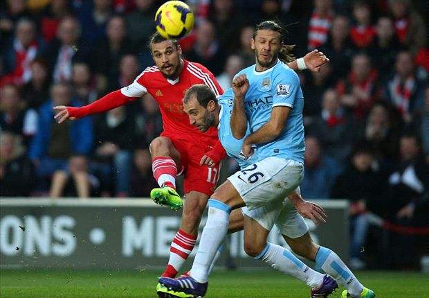 Southampton 1-1 Manchester City: Osvaldo stunner saves point for Saints