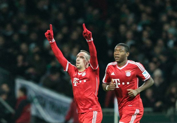 Ribery: Bayern can repeat treble win