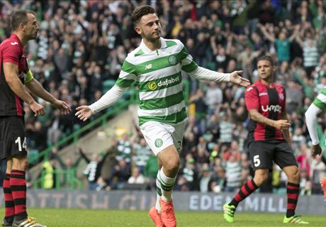 Celtic cruises in Champions League
