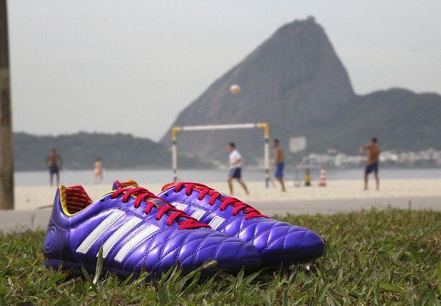The adidas Samba 11Pro is made with ultra-light Taurus leather.