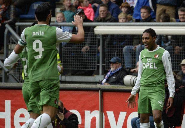 Feyenoord houdt stand tegen Heerenveen