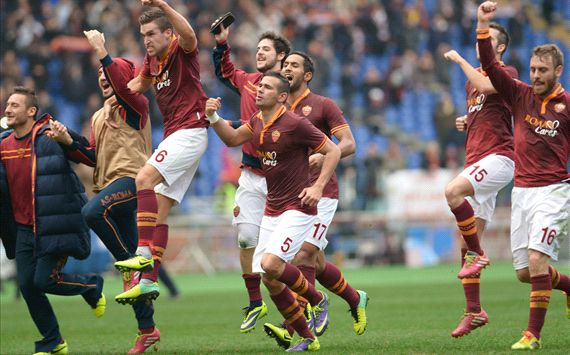 AS Roma Bungkam Fiorentina
