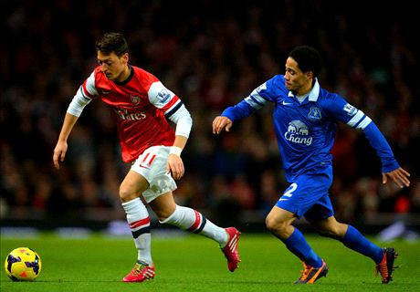 LIVE: Arsenal 0-0 Everton