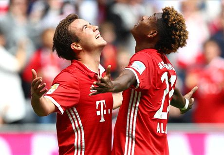 Gotze a big loss for Bayern - Alaba