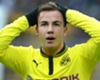 Injured Gotze out of Madrid clash
