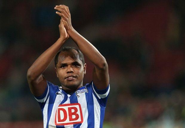 Brasilianer mit Blessur: Ronny könnte Hertha im Duell gegen den Club fehlen
