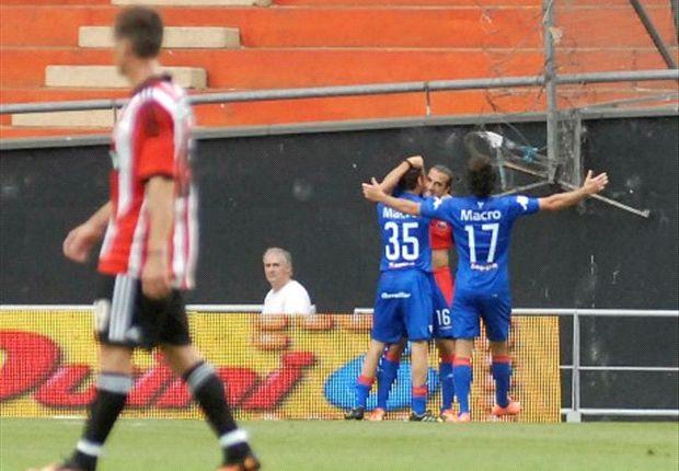 Estudiantes perdió con Tigre, en lo que sería el último partido de la Bruja Verón.