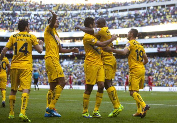 Liguilla 2013: América (3) 2-0 (2) Toluca l Vuela a la Final