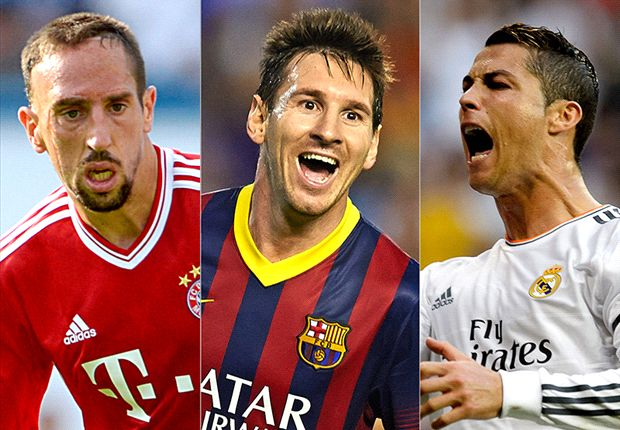 Ronaldo, Ribery or Messi - who should win the 2013 Fifa Ballon d'Or?