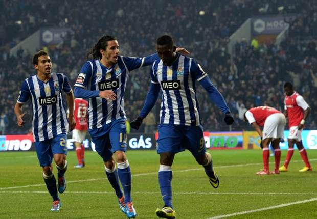 Porto's Jackson Martinez.