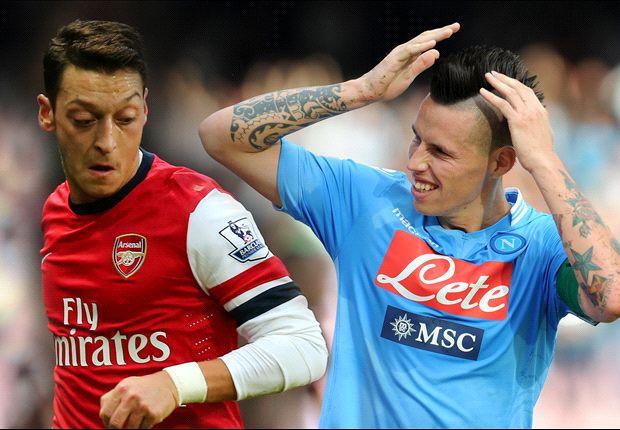 Betting round-up: Arsenal, Napoli tough to separate