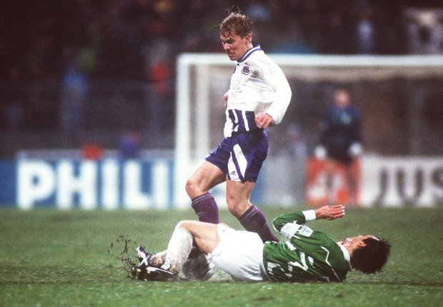 Image result for Werder Bremen 5 Anderlecht 3 (1993 Group Stage)