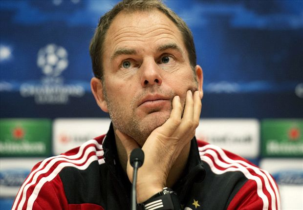 Tottenham are interested in De Boer, says agent