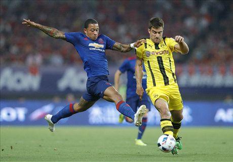 Dortmund hit four past Man Utd