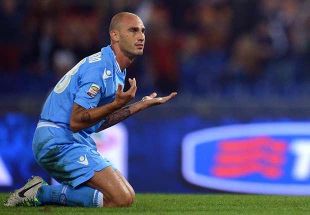 Napoli captain Paolo Cannavaro