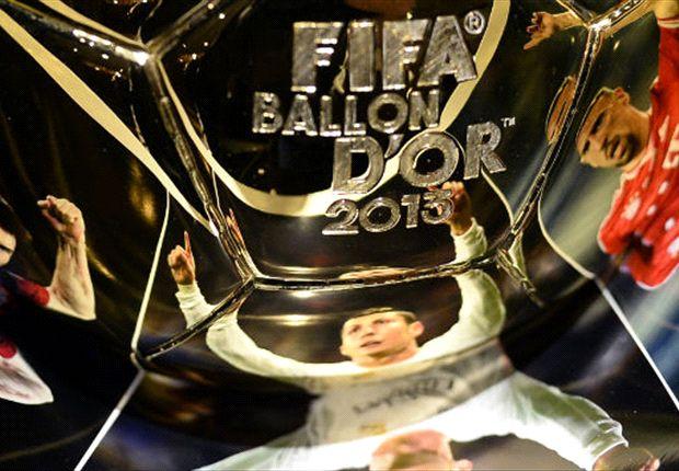 Franck Ribéry, Lionel Messi y Cristiano Ronaldo, los tres finalistas del Balón de Oro