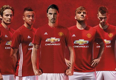 Man Utd unveil new home shirt