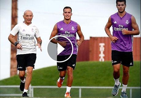 Morata ya se entrena con el Madrid